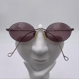 Vintage Esprit Bronze Oval Sunglasses Frames